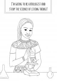 She Wanted To Empower Young Girls So Made This Coloring Book