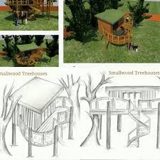 Unique Creative Tree House Design With Circular Shape And