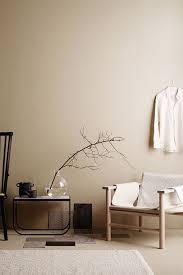 haselnuss für die wand wandfarbe wohnzimmer einrichten