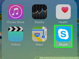 Image titled Mute a Group Chat on Skype on iPhone or iPad Step 1