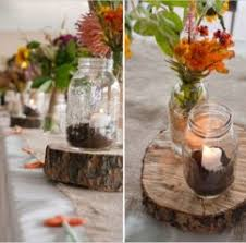 Home Design Rustic Wedding Reception Table Decorations Rustic
