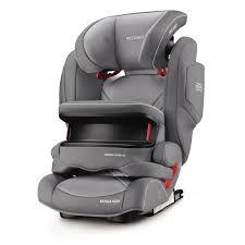 siege b b recaro recaro siège auto monza is seatfix aluminium grey le groupe 1 2
