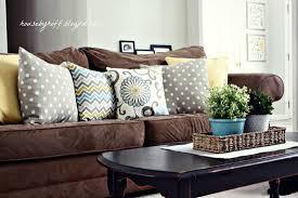 brown sofa pillows sofas