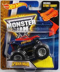 100 Spiderman Monster Truck Hot Wheels Jam SpiderMan With Stunt Ramp 27