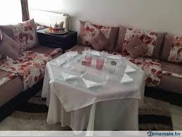 tissu canapé marocain salon marocain avec 2 sets de tissu a vendre 2ememain be