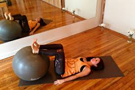 Pilates Ball Chair South Africa by 7 Moves To Try Before Your First Barre Class Huffpost