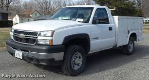 100 Chevy Utility Trucks For Sale 2006 Chevrolet Silverado 2500HD Utility Truck Item K7705