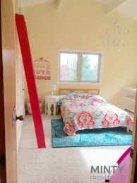 Fjellse Bed Frame Hack by Little U0027s Bedroom Makeover Part 2 Minty Fresh Projects