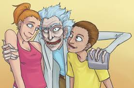 Rick N Morty By Gutters Voice