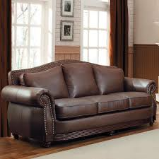 Broyhill Laramie Microfiber Sofa In Distressed Brown by 100 Leather Livingroom Furniture Magnificent Ideas For