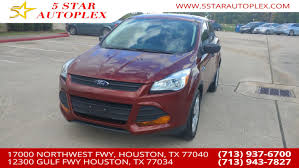 Used Ford For Sale In Houston, TX - 5 Star Autoplex Best Used Car Dealership Texas Auto Canino Sales Houston College Station San Antonio 2013 Hyundai Specials In Hub Of Katy 2011 Ford F150 Xl City Tx Star Motors Irving Scrap Metal Recycling News 2017 Super Duty F250 Srw Lariat Truck 16250 0 77065 Trucks For Sale In Khosh Preowned At Knapp Chevrolet Doggett