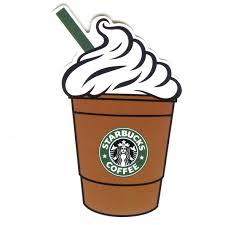 1320 Starbucks Coffee Cappuccino Height 9 Cm Decal Sticker Clipart 1181