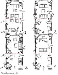 Long Rectangular Living Room Layout by Furniture Placement For Rectangular Living Room Centerfieldbar Com