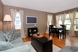Image Of Great Decorating A Small Living Room Dining Combination