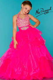 neon pink little girls pageant dress glitz and glam pinterest
