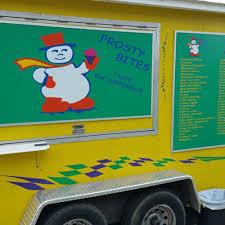 100 Food Trucks Tulsa Frosty Bites Shaved Ice Roaming Hunger