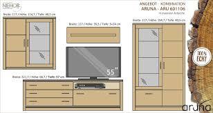 aruna 601106 wohnzimmer möbel wohnzimmereinrichtung wohnwand wimmer asteiche massiv