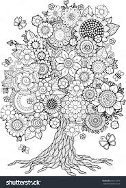 Coloring Book For Adult Doodles Meditation