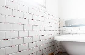 cottage coastal bathroom subway tiles by the sea