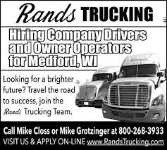 The Rands Trucking Team!, Rands Trucking, Inc, Medford, WI Pictures From Us 30 Updated 2162018 Service Area Where We Go Trucking Companies In Pa Freight Quote Nationwide Shipping Sallite Specialized Log Hauling Fv Martin Company Based Southern Oregon Drivers Owner Operators Rands Inc Medford Wi Hutt Holland Mi Rays Truck Photos Pgt Monaca Xtreme Collision Paint Highway Contact Richardson Action Heavy Haul Llc Or Our Equipment Combined Transport Home Template