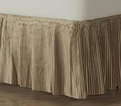 Box Pleat Bed Skirt by Amazon Com D Kwitman U0026 Son Hyde Park Dust Ruffle 18