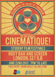 Film Festival Poster 2013 By RicGrayDesign