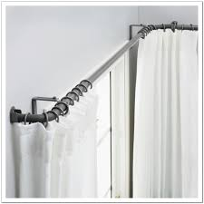 Curtain Rod Extender Bracket by Interior Home Interior Collection By Home Depot Curtain Rods