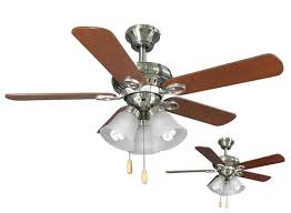 Brushed Nickel Ceiling Fan by Turn Of The Century Hendrick 44 In Brushed Nickel Ceiling Fan At