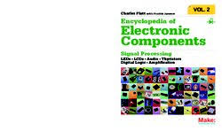 Encyclopedia Of Electronic Components Volume 2 LEDs LCDs Audio Thyristors Digital