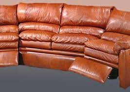Decoro Leather Sectional Sofa by Leather Sofa Recliners