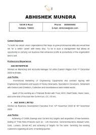 Sample Resume For Marketing Manager Beautiful Sales Executive Best