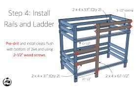 2x4 bunk bed rogue engineer