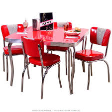 100 Red Formica Table And Chairs Retro Dinette Set With Square In 2019 Cherry Themed Kitchen