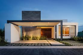 100 Modern House Plans Single Storey Exterior Doors One Story Lovely Contemporary