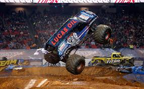 100 Monster Trucks Atlanta Lucas Oil Crusader Doubles Down In Jam
