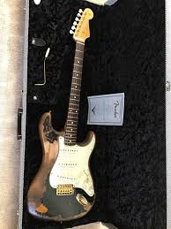 Fender Custom Shop Stratocaster John Mayer Black One Replica