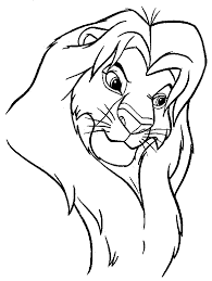 All Lion King Characters Coloring Page
