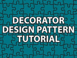 Decorator Pattern C Code Project by Decorator Design Pattern Youtube