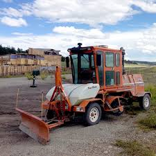 Broce 350 Series Road Construction Sweeper - Broce Broom