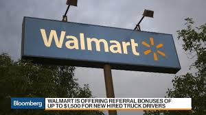 100 Truck Driver Average Salary Help Wanted At Walmart With 1500 Bounties For New