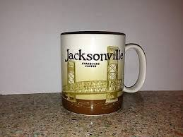 Starbucks Coffee Cup Mug Jacksonville Bridge Global Icon 16oz Costume