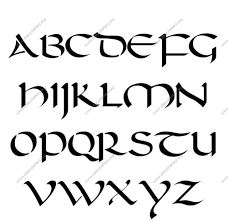 A To Z Alphabets In Calligraphy Cursive Letters A To Z