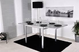 table de cuisine chez conforama table en verre cuisine table cuisine verre blanc table de