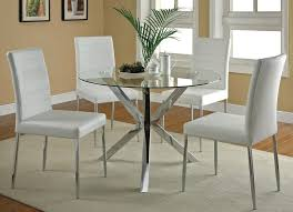 Tiny Kitchen Table Ideas by Small Black Glass Kitchen Table And Chairs White Hanging Lamp