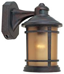 innovative sensor outdoor wall lights fallbrook 9h black dusk to