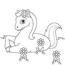 Horse Jumping Coloring Sheets Pages Horses With Wings To Color