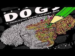 Detailed Dogs A Complicated Canine Coloring Book