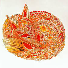 Fox Coloringbook Colorbook Milliemarotta