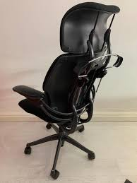 Humanscale Ergonomic Office Chair Humanscale Freedom Green High Back Ergonomic Adjustable Freedom Executive Armchair 80hbsyach Refurbished Humanscale High Back Task Chair Black Office The Reviewed Thrones 12 Best Ergonomic Chairs Of 2018 Guidereview Highback Headrest Gel Arms New Casters In Poole Dorset Gumtree Leather Day Chair Rehab Fabric Healthcare Sharkoon Elbrus 1