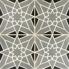 Patterned Concrete Tiles 9 Available At World Mosaic Tile In